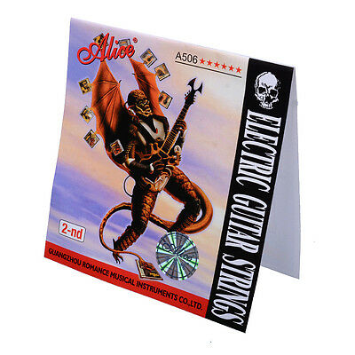 10Pcs Alice A506SL-2 Steel Electric Guitar Strings Single Third 2-nd String