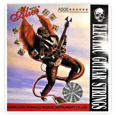 5 Sets Alice A506-SL (009-042) Steel Nickel Alloy Wound Electric Guitar Strings