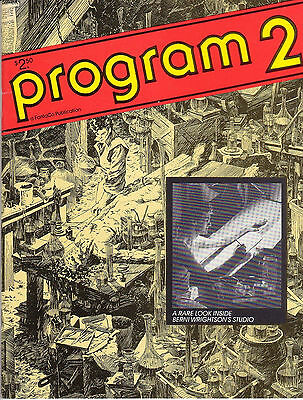 Program 2 FantaCo Comic Book Convention Bernie Wrightson Wendy Pini - 1980