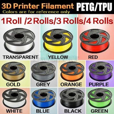 1.75mm 3D Printer PETG TPU Filament Printing Material For Engineer Drawing lot