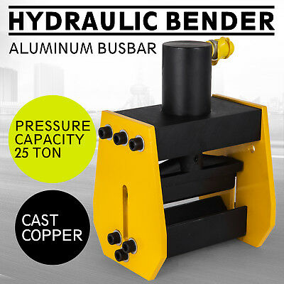 Hydraulic Pipe Bender 25 Ton Manual Tubing Heavy Duty Exhaust Tube Bendin
