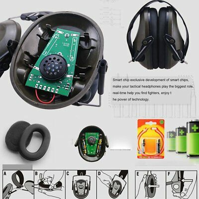 Tactical Noise Cancelling Peltor TAC-6-S Electronic Headset IPSC Emerson XF