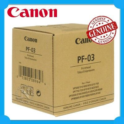 Canon Genuine PF-03 Print Head for iPF-510/iPF-710/iPF-5100/iPF-6100 Aus seller!