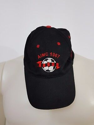 Cappello Berretto Calcio Milan Aimc 1967 Club Albano Fermo Take Two Ultras  C33 6a12dc26078b