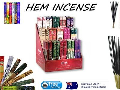 Incense Sticks 20 Hem Home Fragrance Relaxation Meditation Scent Insence Yoga