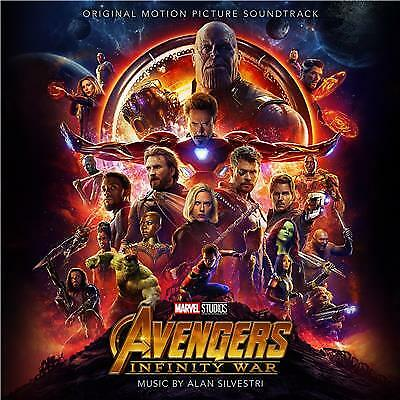 AVENGERS INFINITY WAR Alan Sivestri SOUNDTRACK CD NEW