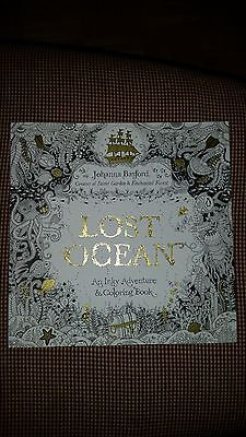 Lost Ocean An Inky Adventure And Adult Coloring Book By Johanna Basford