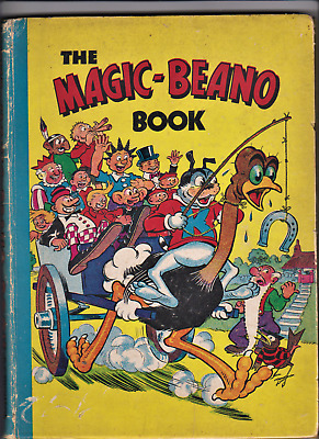 THE MAGIC-BEANO BOOK 1946 Comic Annual (published 1945) Rare
