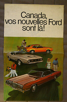 FORD Full Range 1971 dealer brochure - French - Canadian Market