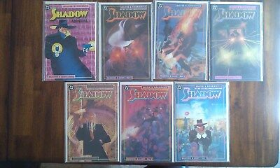 The Shadow Shadows & Light #1 - 6 & Prolog Complete Story Lot of 7 DC Comics
