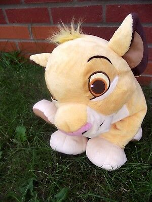 Lion King Simba Extra Large Authentic Disney Store Stamped Soft Floppy Plush Toy