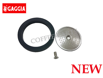 Gaggia Group Head Set: Seal Gasket, Shower Screen and Screw for Gaggia Classic