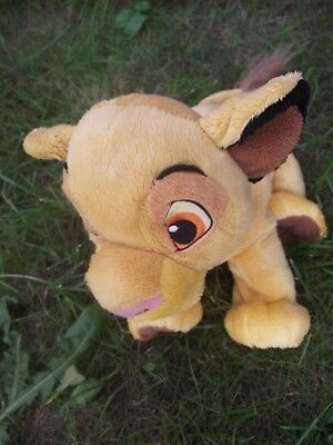 Lion King Simba Extra Large Authentic Disney Store Stamped Soft Plush Toy