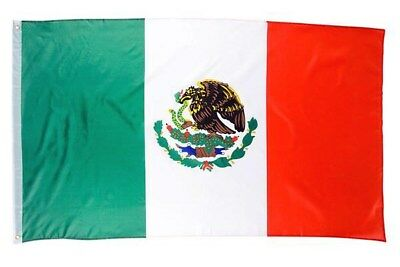 3' x 5' ft. Flag Mexico Indoor Outdoor Country Mexican Yard w/ Grommets Feet