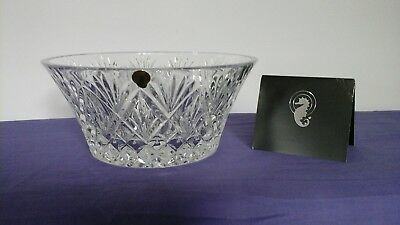 Waterford Crystal Cassidy Bowl 10 Inch Brand New