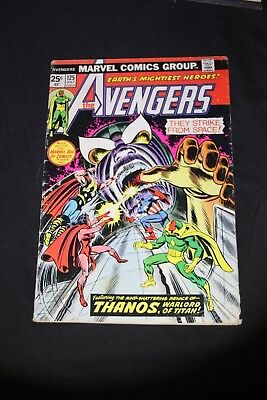 Avengers #125 Early Thanos Appearance 1974 Infinity War prequels