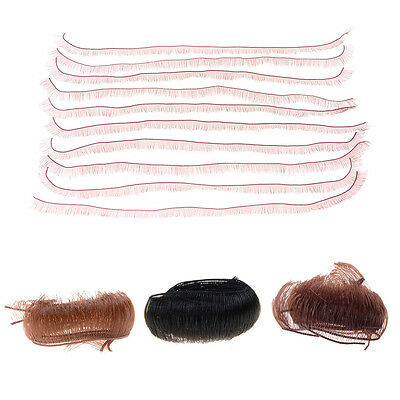 """10Pcs 5/8/10mm DIY Doll Eyelashes For 1/3 1/4  Re 18"""" Doll Accessorie ZPZ"""