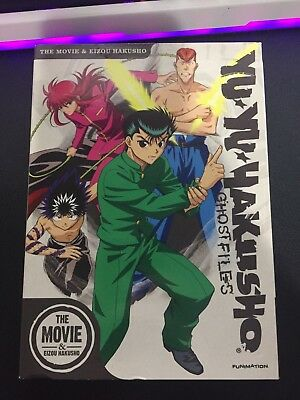 Yu Yu Hakusho The Movie And Eizou Hakusho DVD Funimation Ghost Files