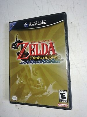 The Legend of Zelda The Wind Waker Replacement Case only! Nintendo Gamecube!