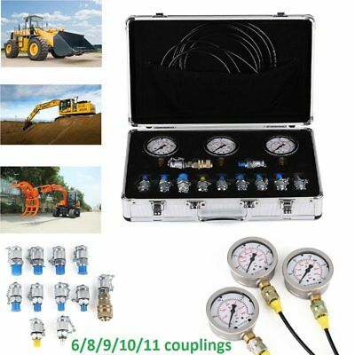 XZTK-60M Excavator Hydraulic Pressure Test Kit ,Hydraulic gauge,test couplings