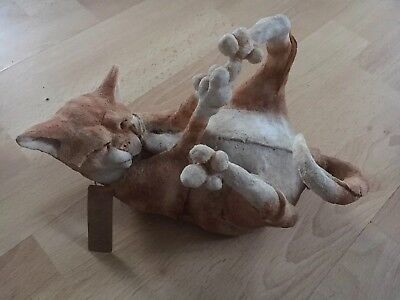 Country Artists Dibley Cat Sculpture. A Breed Apart. Large.