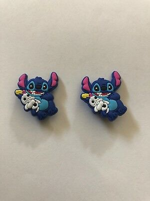 Disney STITCH Jibbitz 2-pc NEW Crocs Shoe Charms