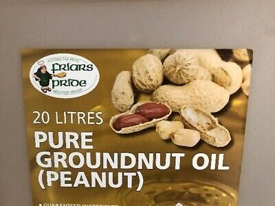 100% PURE GROUNDNUT OIL - 20lt