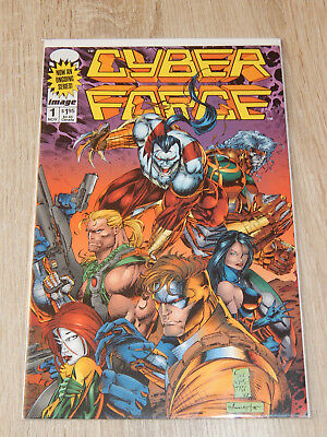 CYBERFORCE #1 (Image 1993) - Marc Silvestri - KEY ISSUE - 1st Ongoing !