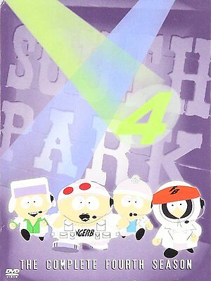 South Park The Complete Fourth Season (4) DVD Animation Comedy TV Series Shows