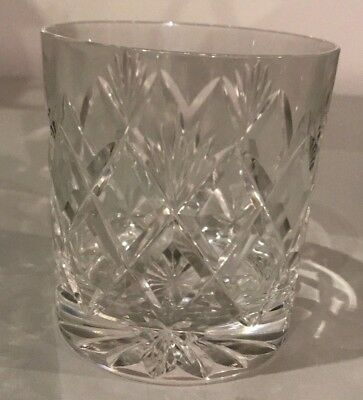 EDINBURGH CRYSTAL  -  KELSO Pattern - Whisky Tumbler Glass /Glasses - 3""
