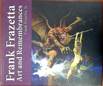 Frank Frazetta Art and Remembrances Limited Edition of 1000 Hardcover NEW Signed