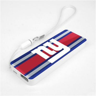 Mizco NFL New York Giants 3K Slim Power Bank Powerbar