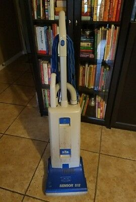 Windsor Sensor S12 Commercial Upright Bagged Vacuum W/Attachments