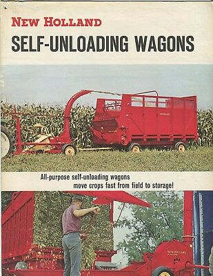 New Holland Self-Unloading Wagons sales booklet