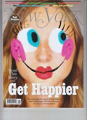 Get Happier New York Magazine May 28 2018 No Label