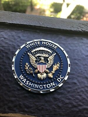 WHITE HOUSE 1ST PRESIDENTIAL OCCUPANT CHALLENGE COIN  GENUINE 2.0 inch Brand NEW