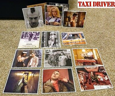 Taxi Driver 1976 Blu-ray *US Retail* + 12 Mint Lobby Cards Bluray Scorsese