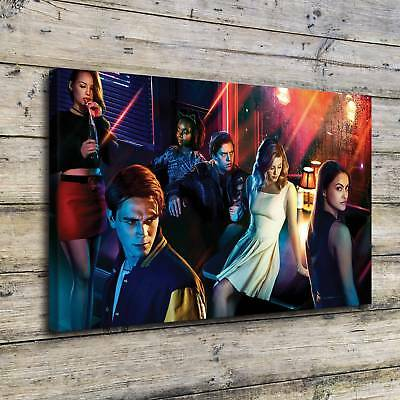 Riverdale Season Painting HD Print on Canvas Home Decor Room Wall Art Pictorial