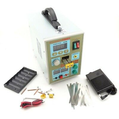 LED Dual Pulse Spot Welder Welding Soldering Machine 788H 60A Battery Charger