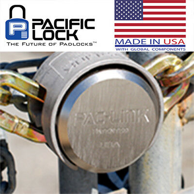 PAC-LINK Gate Security-Includes PAC-LINK+Rekeyable Hardened Steel Hockey-Puck