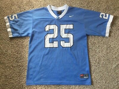 8434872c582 Boys Youth NIKE North Carolina Tar Heels Football Jersey Sz L #25 UNC