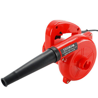 Electric Air Leaf Blower Dust Cleaner Handheld Inflator Vacuum 600W Large Volume