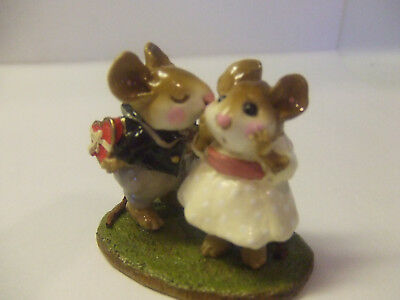 Wee Forest Folk 1993  Annette Petersn First Kiss Pre Owned