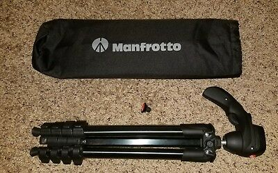 Manfrotto Compact Action Aluminium Tripod with Hybrid Head (MKCOMPACTACN-BK) - …
