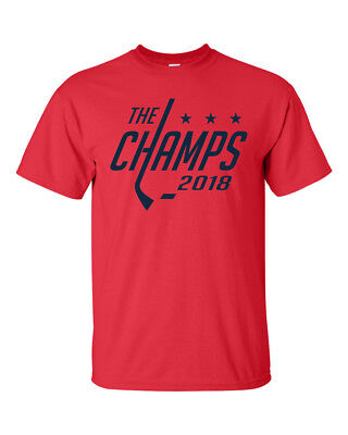 2018 Washington Capitals Stanley Cup NHL Champions Ovechkin Various Colors S-3XL