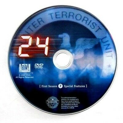 24 First Season 1 Replacement DVD 7 Disc Only special features + FREE Shipping