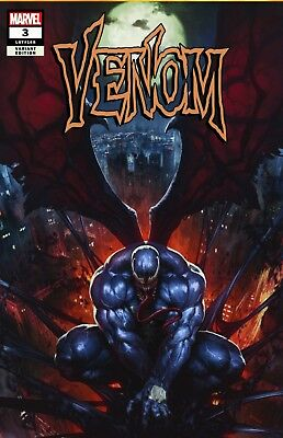 Venom 3 Variant Skan Trade Limited 1St App Copies Spider-Man 7/4 Marvel Presale