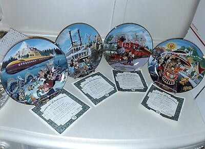 The Bradford Exchange Collectors, Disneyland's 40th Anniversary Collection. 4