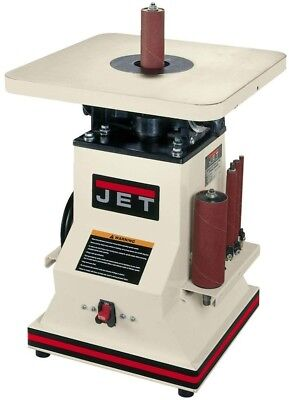 JET Benchtop Spindle Sander Oscillating 5.5 in. 1/2 HP Built-in Storage Racks