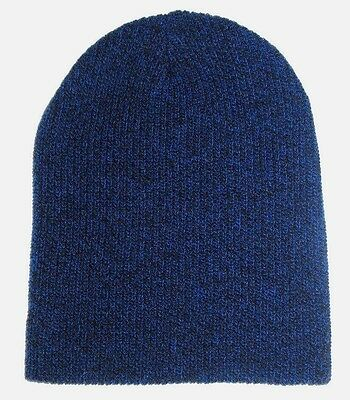 MENS AMERICAN EAGLE Outfitters Reversible Royal Blue Beanie Hat One ... b6c229d11b02